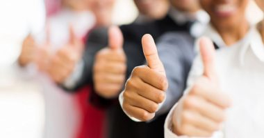 hemophilia A injection treatment | Hemophilia News Today | people giving thumb's up